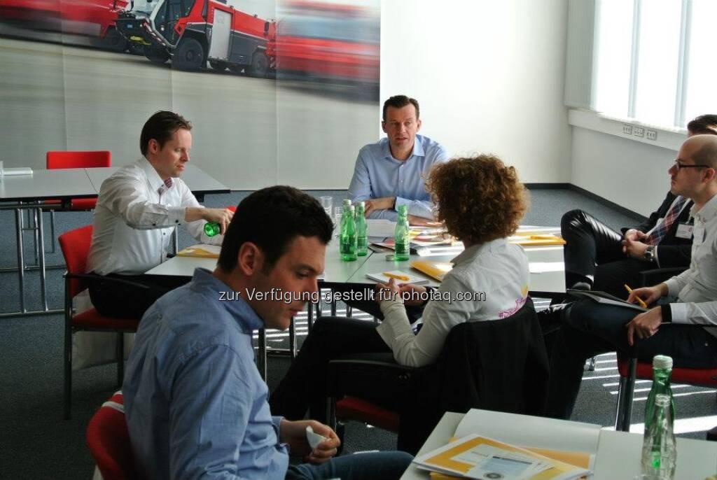 ambuzzador mit Gerhard Kürner, Sabine Hoffmann und Stefan Schwaha., © ambuzzador (25.03.2013)