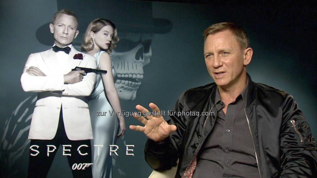 Daniel Craig: In London trifft Matthias Malmedie für ein Interview auf Bond-Darsteller Daniel Craig (Spectre). RTL II: Grip - Das Motormagazin: James Bond Special (C) RTL II, © Aussendung (07.11.2015)
