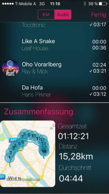 Im Mix unter http://www.runplugged.com/app diesmal aktuelle FM4-Playlist-Dinger und Austro-Raritäten: Darunter Da Hofa mit Mitwirkung von Clemens Haipl (08.11.2015)
