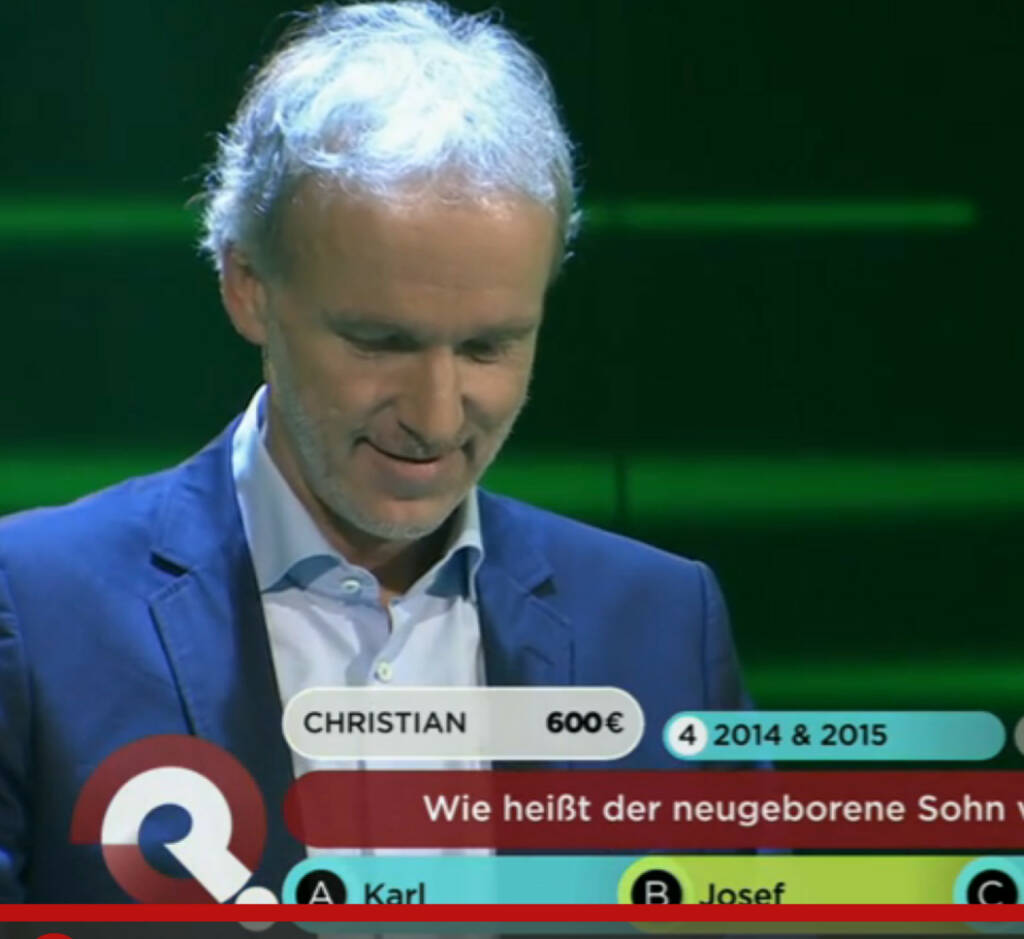 Christian Drastil bei Servus TV, © Servus TV (09.11.2015)