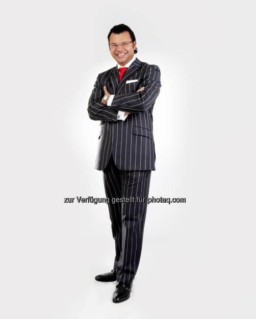 Paul Misar (Autor) : Einzigartig - mit authentischer Positionierung und Branding zum Erfolg : Neuerscheinung des Erfolgsbuchautors Paul Misar im Redline Verlag : Fotocredit: obs/Best of Best Erfolgsakademie GmbH (10.11.2015)