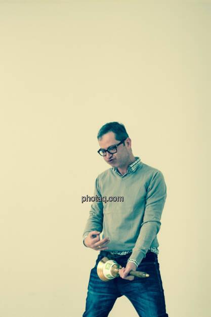Clemens Haipl (Kabarettist, Moderator), © Martina Draper/photaq (11.11.2015)