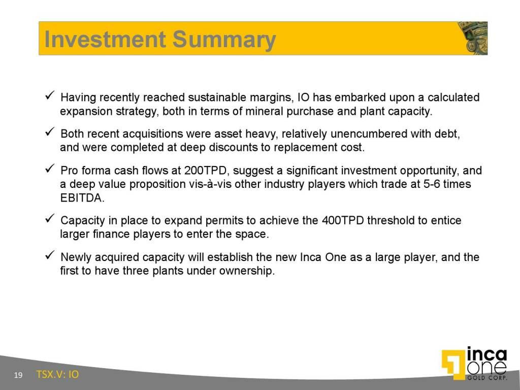 Investment Summary (12.11.2015)