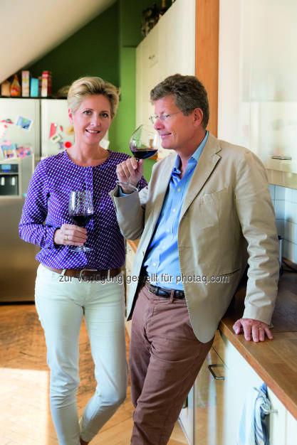 Martina und Karl Hohenlohe - die neuen Genussbotschafter für Lidl Österreich : Kulinarische Kooperation mit Martina und Karl Hohenlohe : (c) Lidl Österreich, © Aussender (12.11.2015)