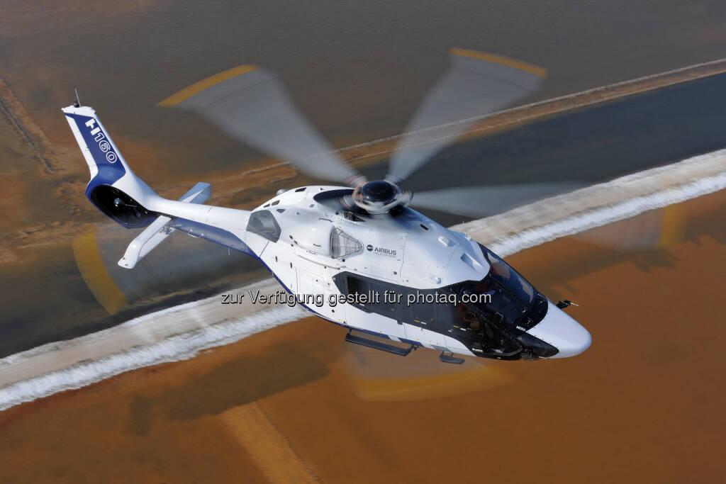 Airbus Helicopter H160 im Peugeot Design : Das Designlab des renommierten Automobilherstellers Peugeot entwickelte das Außendesign für den neuen Airbus Hubschrauber H160 : Fotocredit: Peugeot, © Aussendung (12.11.2015)