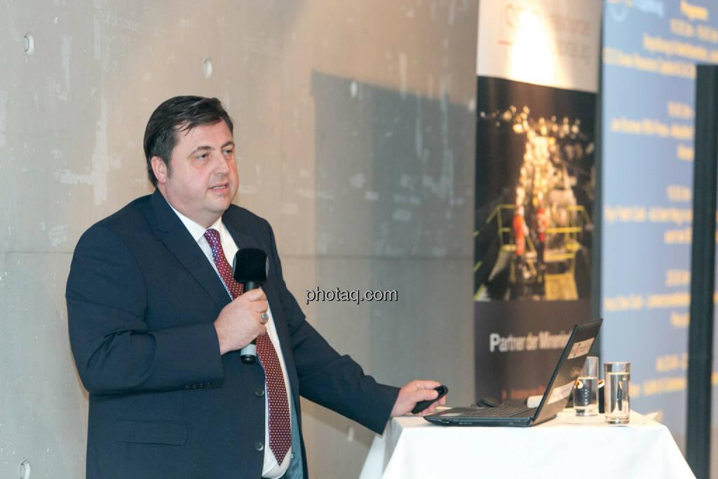 Jochen Staiger, Swiss Resource Capital AG, © Martina Draper/photaq (12.11.2015)
