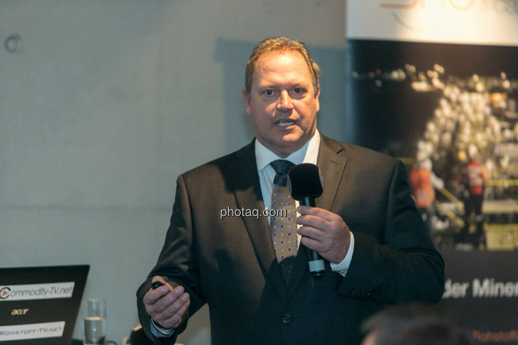 Bill Howald, President, CEO & Director, Co-founder Rye Patch Gold, © Martina Draper/photaq (12.11.2015)