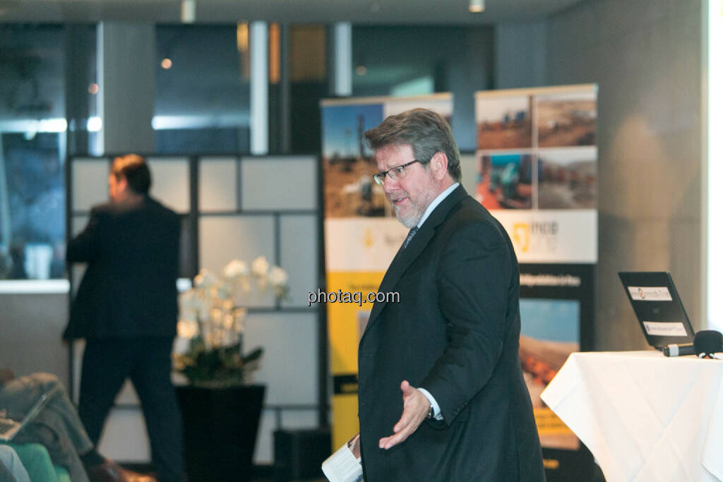 George Moen, Senior VP Finance, Inca One, © Martina Draper/photaq (12.11.2015)