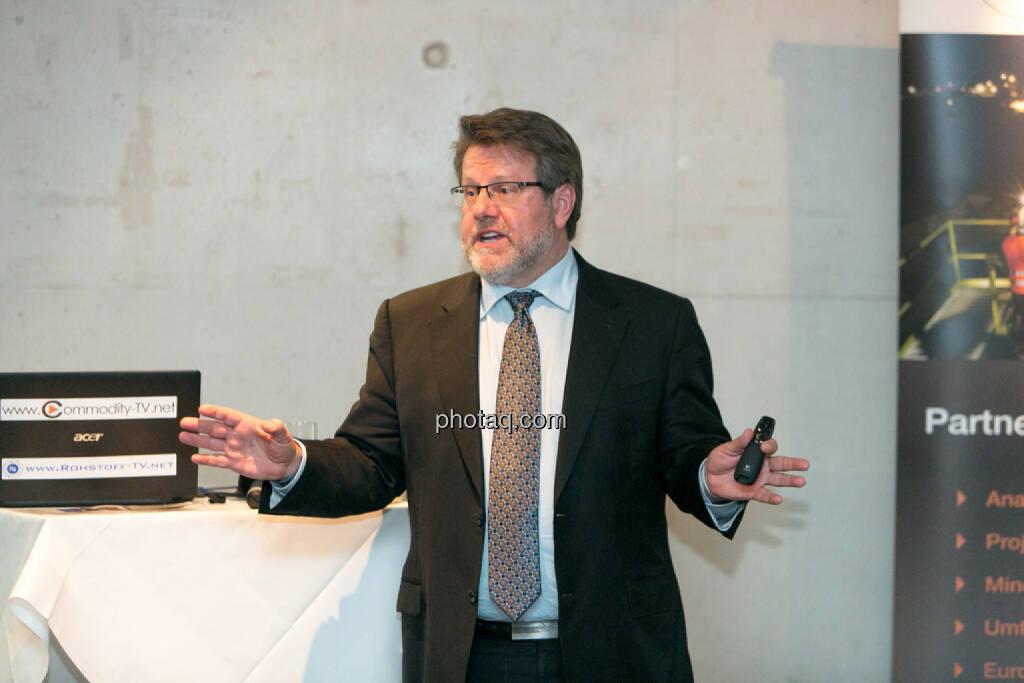 George Moen, Senior VP Finance, Inca One, © Martina Draper/photaq (12.11.2015)