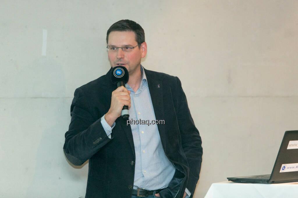 Björn Paffrath, Fund adviser , © Martina Draper/photaq (12.11.2015)