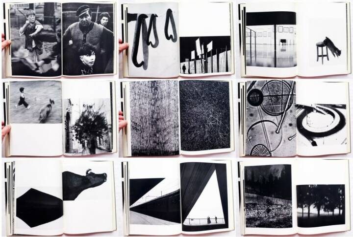 Otto Steinert - Subjektive Fotografie 2 - Ein Bildband moderner Fotografie, Brüder Auer Verlag 1955, Beispielseiten, sample spreads - http://josefchladek.com/book/otto_steinert_-_subjektive_fotografie_2_-_ein_bildband_moderner_fotografie