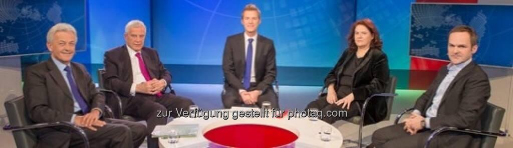 Talkten auf Puls 4: Michael Ikrath, Klaus Liebscher, Florian Danner, Jutta Ditfurth, Franz Schellhorn (Puls 4) (26.03.2013)