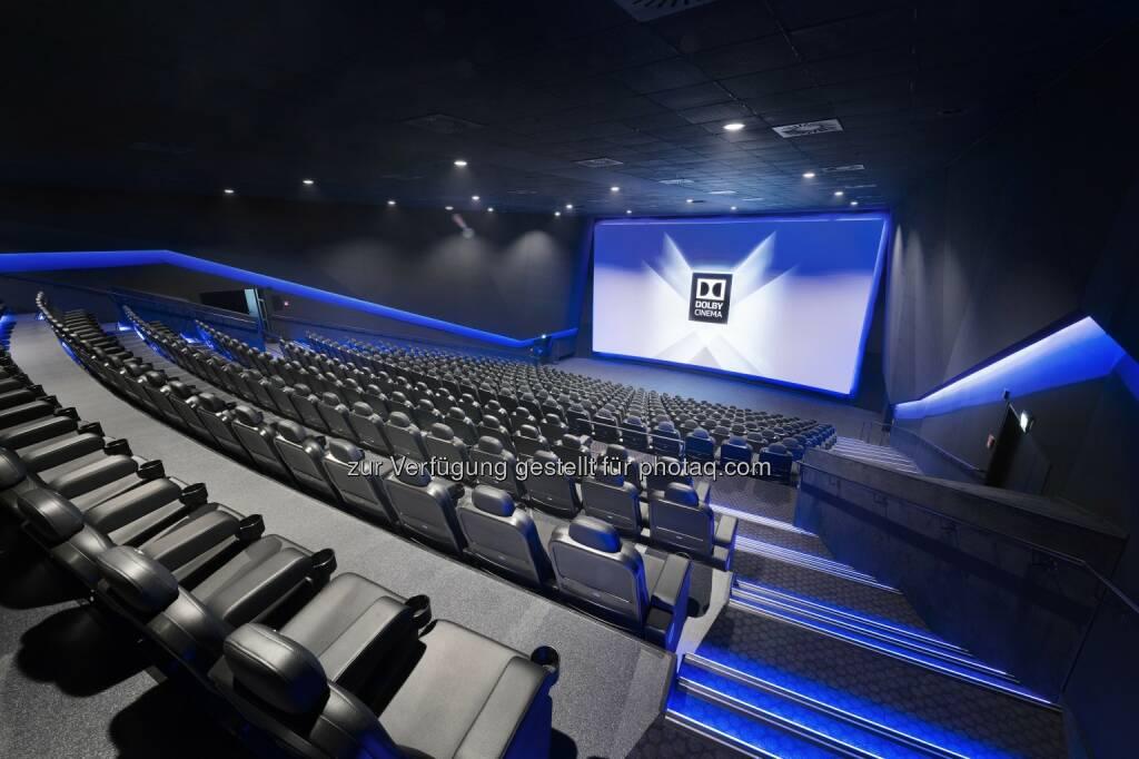 Dolby Cinema Saal im Cineplexx Linz : Modernstes Kino Österreichs: Cineplexx Linz setzt neue Maßstäbe : Cineplexx investierte vier Millionen Euro in Linz und eröffnet exklusiv den ersten Dolby Cinema Saal mit Dolby Vision-Laserprojektion im gesamten deutschsprachigen Raum : Fotocredit: Cineplexx/Koehler, © Aussendung (17.11.2015)