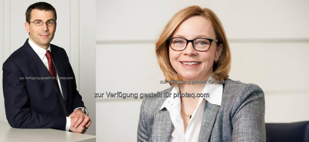 """Christoph Schäffer (GF Hypo Noe Immobilien, Fotocredit: privat), Vera Futter-Mehringer (GF Hypo Noe Immobilien, Fotocredit: Hypo Noe) : Hypo Noe Immobilien ab sofort mit neuem Geschäftsführer-Duo : Vera Futter-Mehringer und Christoph Schäffer zeichnen nunmehr als Geschäftsführer für die Hypo Noe-Töchter """"Real Consult"""", """"First Facility"""" und """"Valuation & Advisory"""" verantwortlich , © Aussendung (17.11.2015)"""