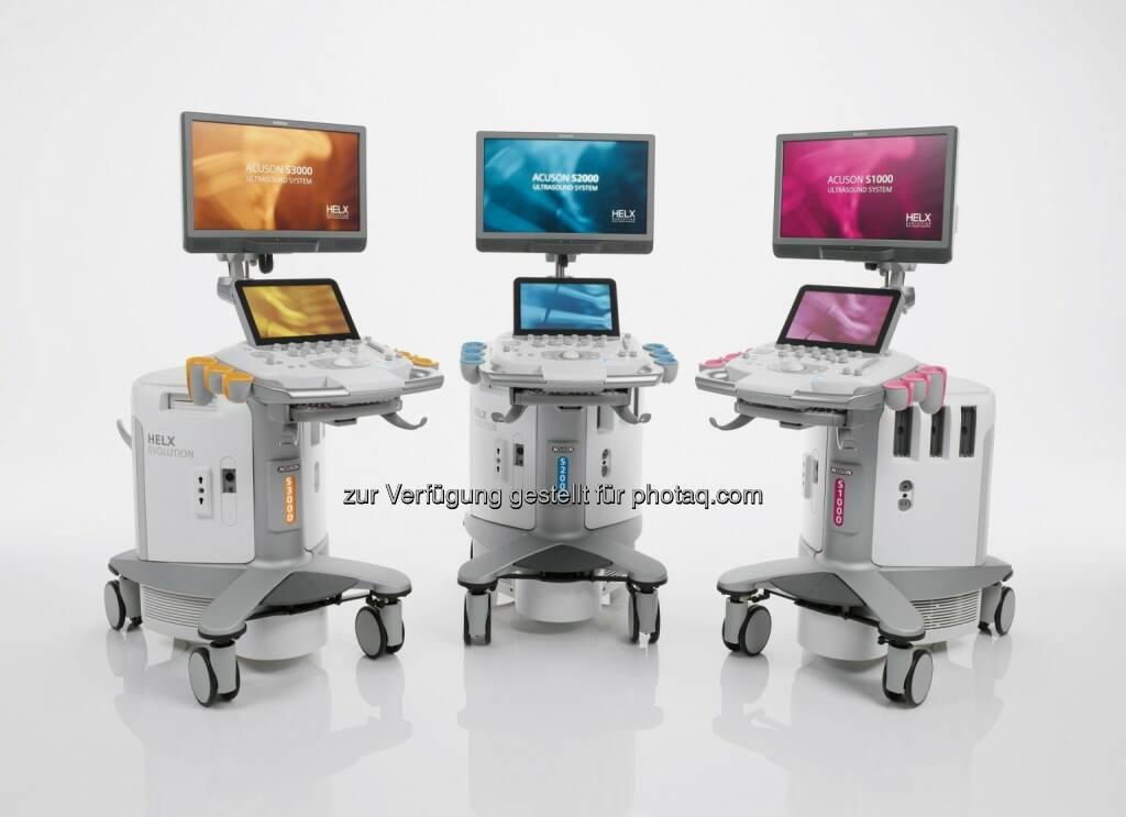 Acuson-S-Familie, Helx Evolution mit Touch Control : Vereinfachung Ultraschall-Bildgebung : Neue Technologien verbessern diagnostische Aussagekraft klinischer Bilder : Leicht zugängliche Upgrades sorgen für mehr Investitionssicherheit : Fotocredit: Siemens AG, © Aussender (18.11.2015)