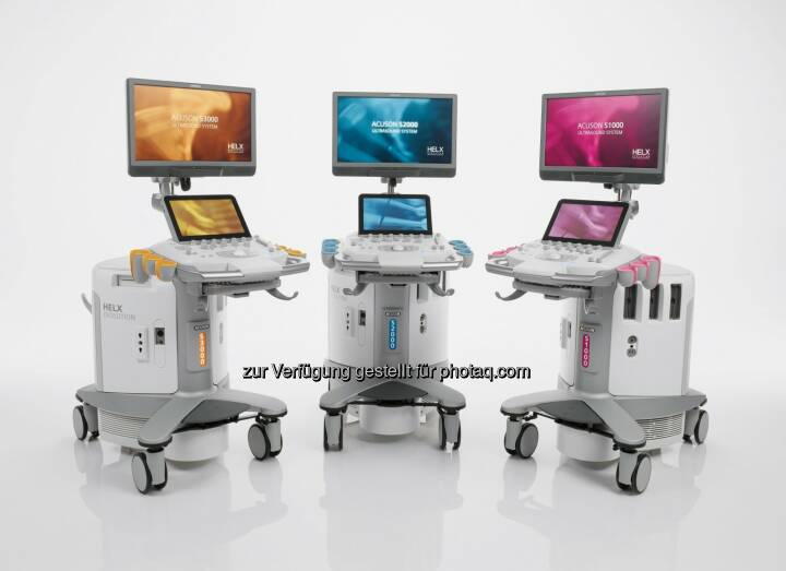 Acuson-S-Familie, Helx Evolution mit Touch Control : Vereinfachung Ultraschall-Bildgebung : Neue Technologien verbessern diagnostische Aussagekraft klinischer Bilder : Leicht zugängliche Upgrades sorgen für mehr Investitionssicherheit : Fotocredit: Siemens AG