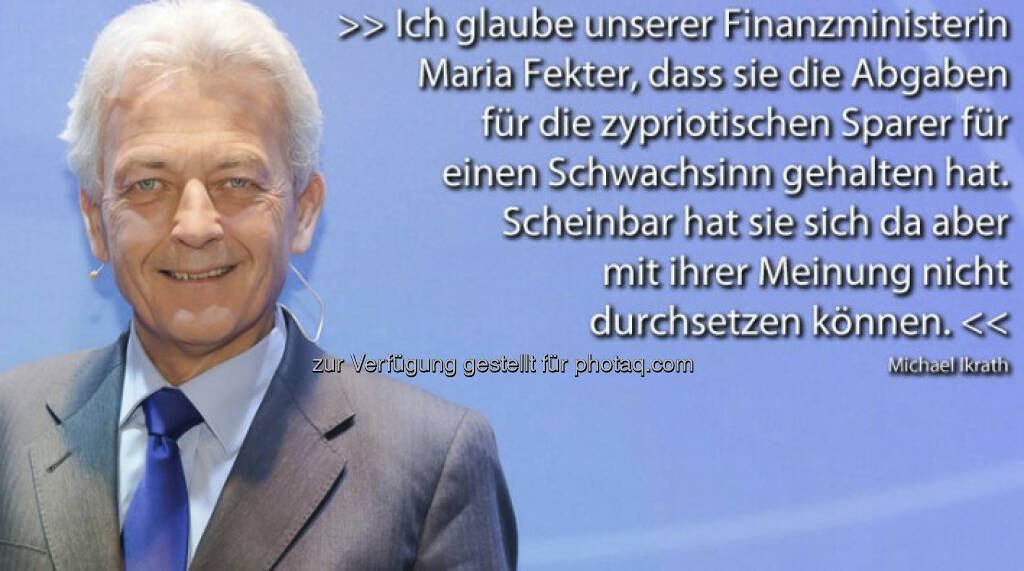 Michael Ikrath mit Sager zu Zypern für http://www.puls4.com/austrianews/Pro-und-Contra-Zitate-vom-25-03-2013/artikel/11738 (c) Puls 4 (26.03.2013)