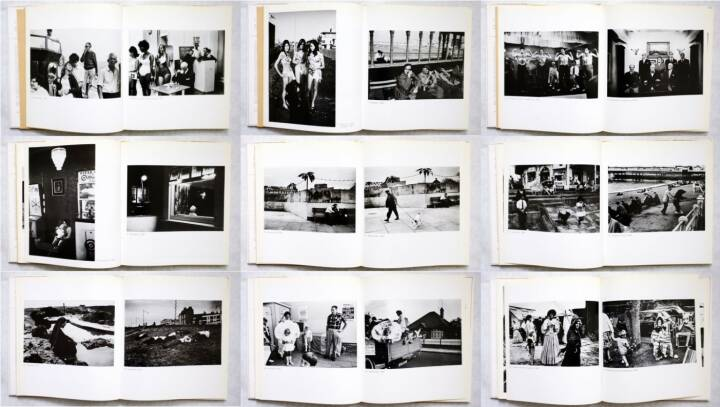 Tony Ray-Jones - A day off, Thames and Hudson 1974, Beispielseiten, sample spreads - http://josefchladek.com/book/tony_ray-jones_-_a_day_off