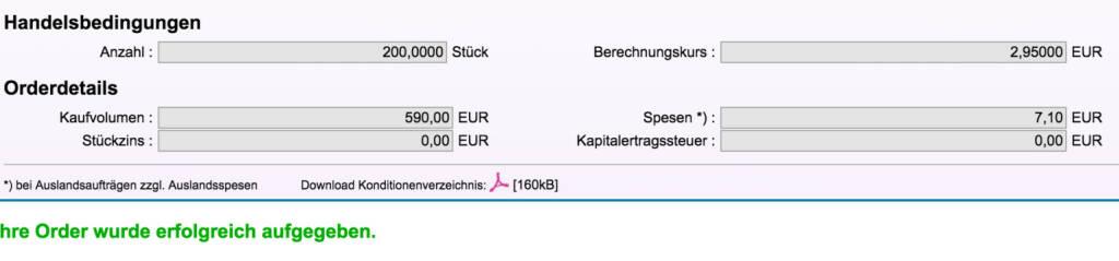 Tag 96: Kauf 200 Nasdaq Put DB zu 2,95 (18.11.2015)