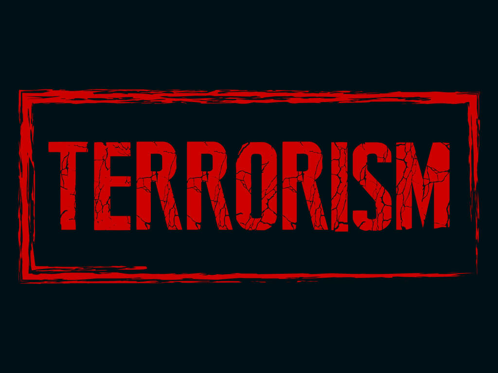 Terror, Terrorismus http://www.shutterstock.com/de/pic-275557637/stock-vector-creative-vector-illustration-of-terrorism-with-nice-and-creative-red-colour-outlined-in-a-black.html, © www.shutterstock.com (19.11.2015)