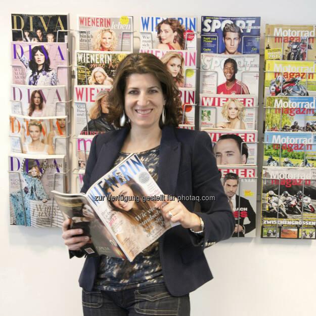 Nina Haas startet Anfang April als Beraterin bei der osb international systemic consulting. Davor war Nina lange Jahre Vorstand der Styria Multi Media (Foto mit freundllicher Genehmigung von Nina Haas)  (27.03.2013)