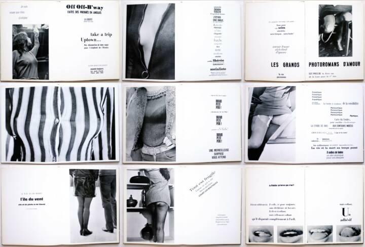 Marc Attali & Jacques Delfau - Les érotiques du regard - Andre Balland 1968, Beispielseiten, sample spreads - http://josefchladek.com/book/attali_marc_jacques_delfau_-_les_erotiques_du_regard