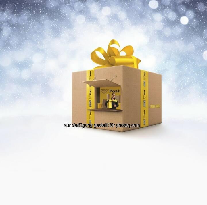 Post Pop-up-Store : Der Post Pop-up-Store, ein überdimensionales Weihnachtspaket, geht auf Tour : Geschenke gratis verpacken und verschicken - Stationen in Innsbruck, Graz und Wien : Fotocredit: Österreichische Post