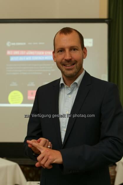 Oliver Bolay (Geschf. E wie Einfach GmbH) : E.ON-Tochter E wie Einfach startet in den österreichischen Energiemarkt : Fotocredit: E wie Einfach/APA-Fotoservice/Tanzer, © Aussendung (25.11.2015)