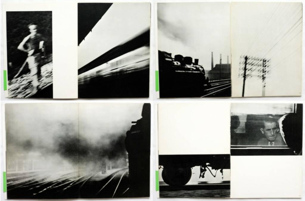 René Groebli - Magie der Schiene, Kubus-Verlag 1949, Beispielseiten, sample spreads - http://josefchladek.com/book/rene_groebli_-_magie_der_schiene, © (c) josefchladek.com (29.11.2015)