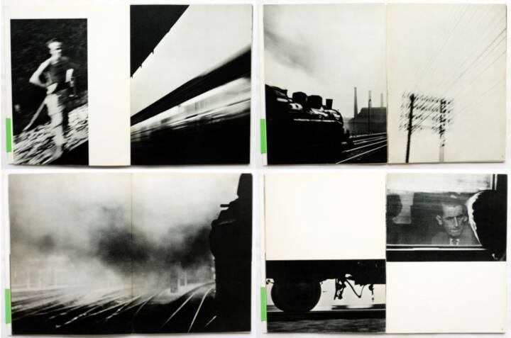 René Groebli - Magie der Schiene, Kubus-Verlag 1949, Beispielseiten, sample spreads - http://josefchladek.com/book/rene_groebli_-_magie_der_schiene
