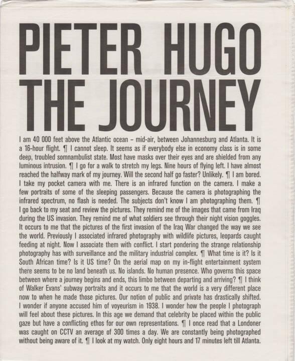 Pieter Hugo - The Journey, Self published 2015, Cover - http://josefchladek.com/book/pieter_hugo_-_the_journey