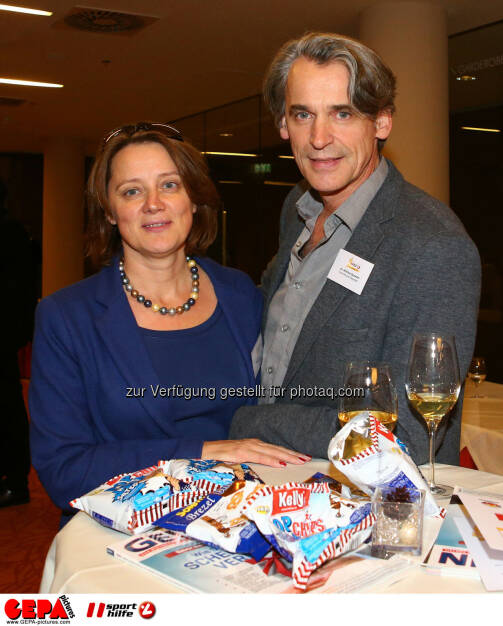 Monika und Wilfried Seywald (Photo: GEPA pictures/ Christian Ort), © Sporthilfe/GEPA (01.12.2015)