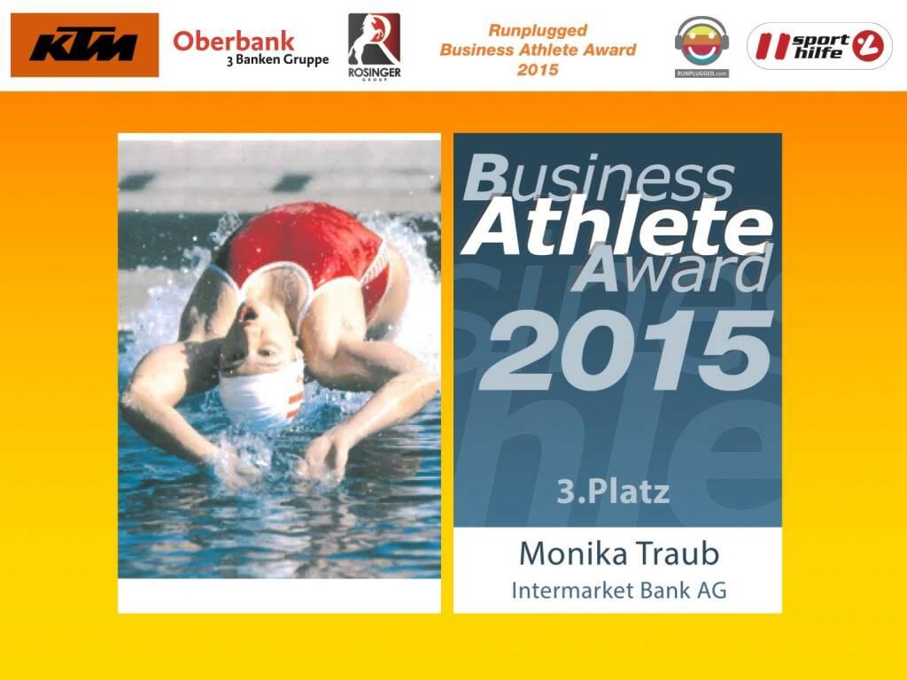 Monika Traub, Platz 3 (01.12.2015)