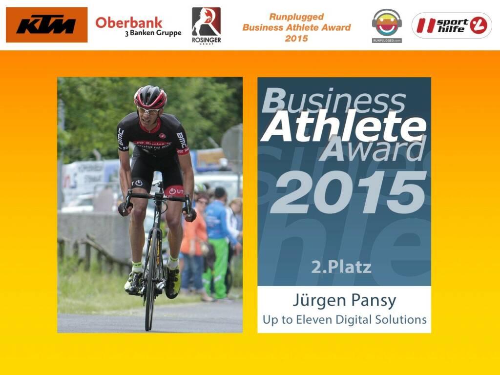 Jürgen Pansy, 2. Platz (01.12.2015)