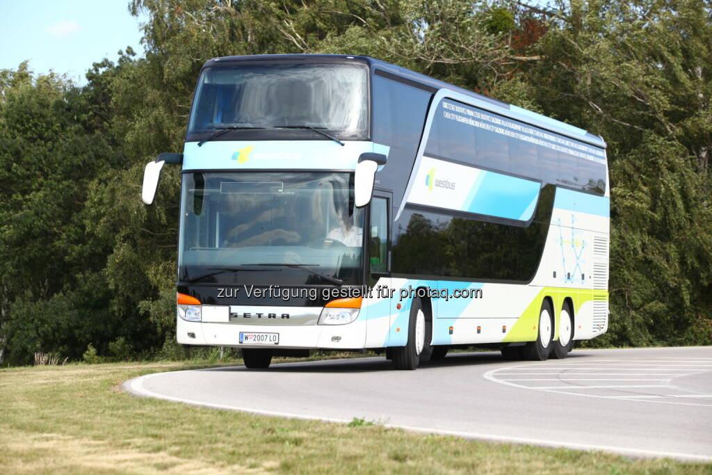 WESTbus : Linie Wien – Klagenfurt : 3-wöchige Sperre der Bahnstrecke Wien-Klagenfurt-Wien : WESTbus verstärkt Angebot! Zusätzliche WESTbusse auf der Südbahnstrecke : Fotocredit: WESTbus GmbH, © Aussendung (02.12.2015)