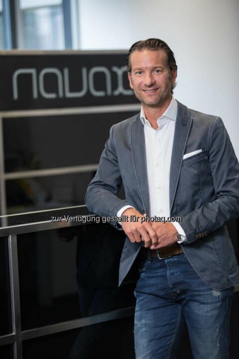 Oliver Krizek (Eigentümer und GF Navax Unternehmensgruppe) : www.NAVAX.com in neuem Kleid : Das IT-Systemhaus präsentiert sich mit neuer Website : Fotocredit: Navax