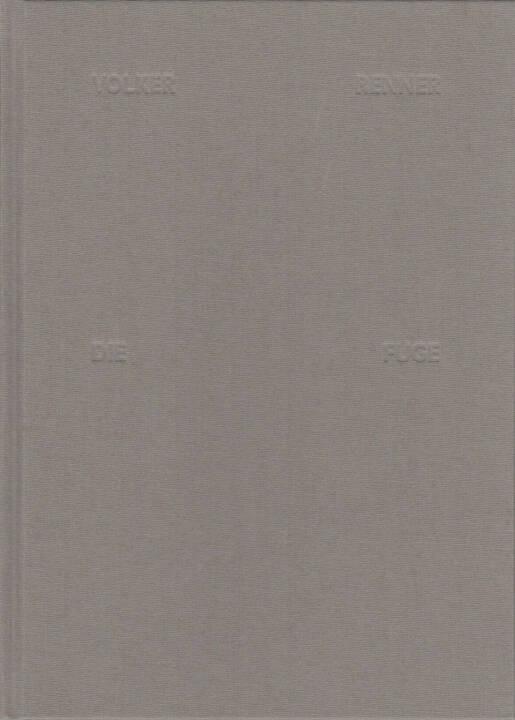 Volker Renner - Die Fuge, Textem Verlag 2013, Cover - http://josefchladek.com/book/volker_renner_-_die_fuge