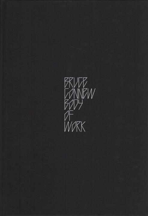 Bruce Connew - Body of Work, Self published 2015, Cover - http://josefchladek.com/book/bruce_connew_-_body_of_work