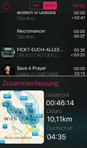 Sepultura Runplugged via http://www.runplugged.com/app (06.12.2015)