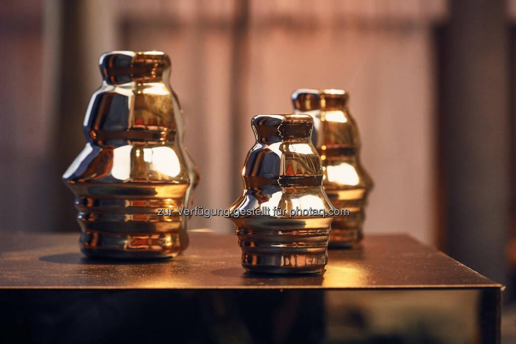 Houskapreis, Österreichs größter privater Forschungspreis : Houskapreis 2016: Bundesweit gehen 62 Projekte von KMU und Universitäten ins Rennen um die begehrte Trophäe : Fotocredit: B&C Privatstiftung / Christina Wind, © Aussendung (07.12.2015)