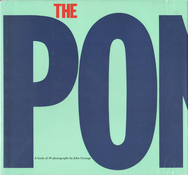 John Gossage - The Pond, Aperture 1985, Cover - http://josefchladek.com/book/john_gossage_-_the_pond