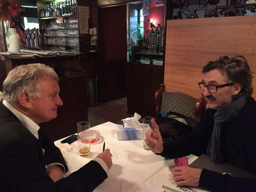 Peter Lukesch (BitRush) und Josef Chladek über Bitcoins (08.12.2015)