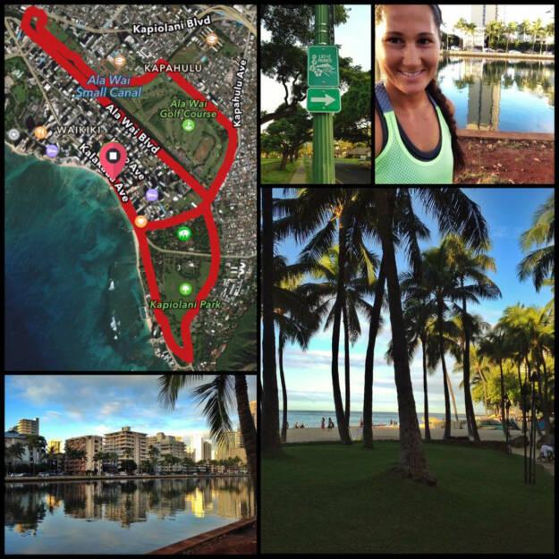 Monika Kalbacher auf Hawaii, © Diverse  (09.12.2015)