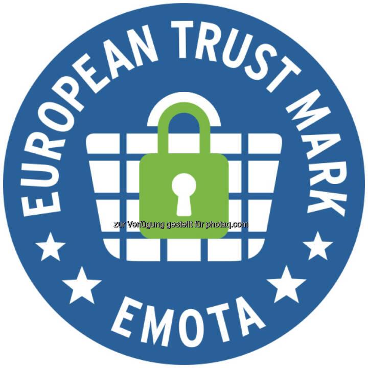 European Trust Mark-Logo : Das Österreichische E-Commerce-Gütezeichen erfüllt durch seine strengen Kriterien den Europa-Standard des European Trustmark : Online-Shops, die die Gütezeichen-Zertifizierung erfolgreich abgeschlossen haben, sind automatisch berechtigt, das European Trustmark zu tragen : Fotocredit: European Trust Mark