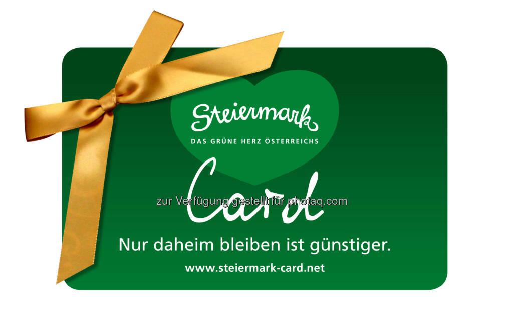 Steiermark-Card 2016: 127 Ausflugsziele mit einer Karte : Fotocredit_ Steiermark-Card, © Aussender (10.12.2015)