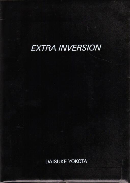 Daisuke Yokota - Inversion, Jean Kenta Gauthier and Twelvebooks 2015, Cover - http://josefchladek.com/book/daisuke_yokota_-_inversion