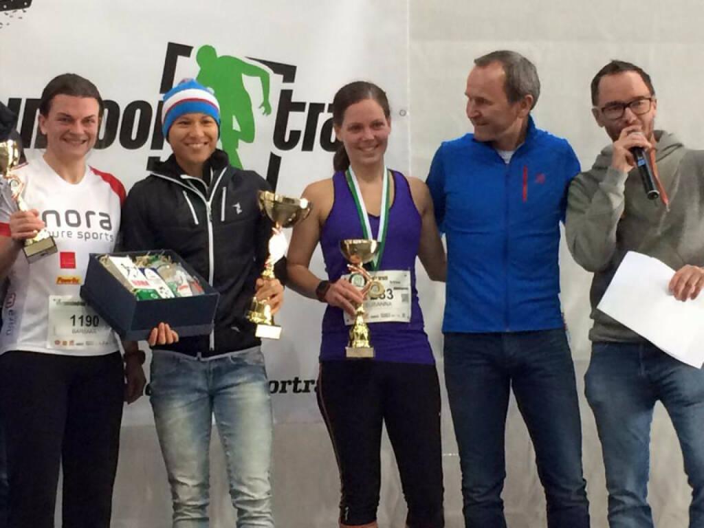 Annabelle Mary Konczer: Sieg beim Vienna Indoor Trail Run über die 10km Distanz (13.12.2015)