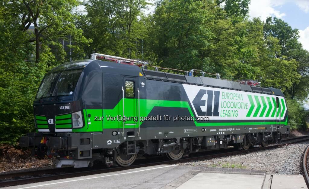 Vectron-Lokomotive : European Locomotive Leasing (ELL), ein Anbieter von Komplettlösungen für das Leasing von Lokomotiven im kontinentaleuropäischen Güter- und Personenverkehr bestellt 50. Vectron-Lokomotive bei Siemens :  Fotocredit: Siemens AG, © Aussendung (14.12.2015)