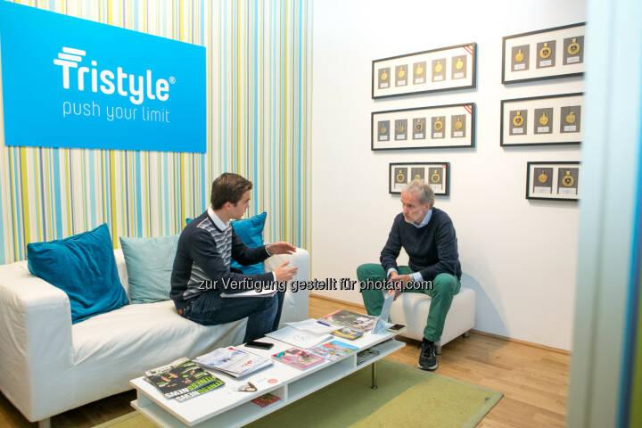 Gerald Pollak interviewt Christian Drastil