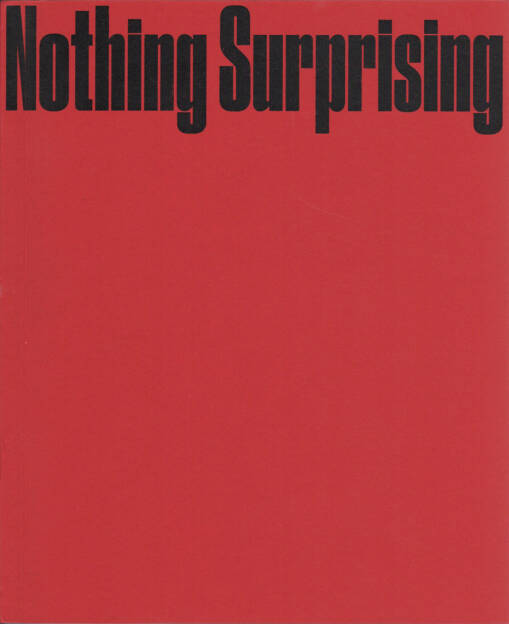 Ali Taptik - Nothing Surprising, Marraine Ginette éditions 2015, Cover - http://josefchladek.com/book/ali_taptik_-_nothing_surprising, © (c) josefchladek.com (16.12.2015)